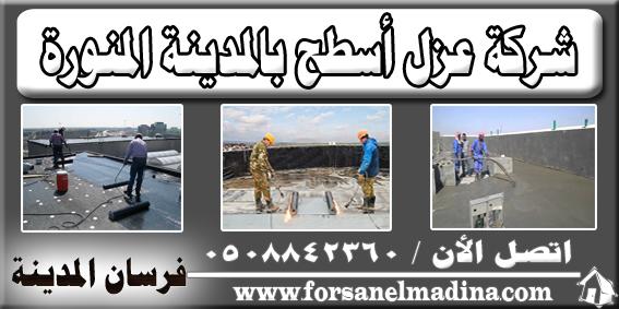 شركة عزل أسطح بالمدينة المنورة 0508842360
